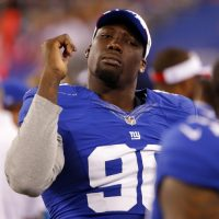 Jason Pierre-Paul, New York Giants (August 28, 2014)