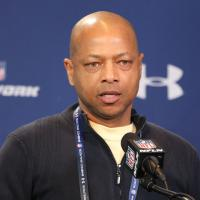 Jerry Reese Press Conference and ESPN Radio Interview