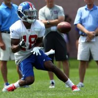 Marcus Harris, New York Giants (July 22, 2014)