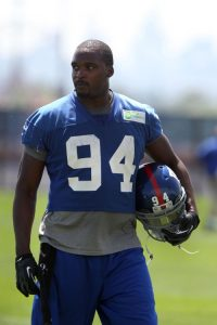 Mathias Kiwanuka, New York Giants (June 18, 2014)