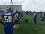 July 23, 2014 New York Giants Training Camp Report