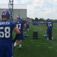 New York Giants Linebackers (July 23, 2014)