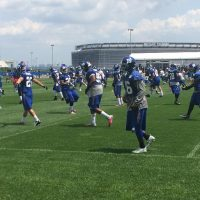 New York Giants Training Camp (July 22, 2014)