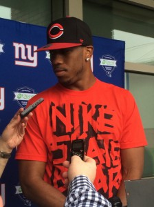 Rueben Randle, New York Giants (June 12, 2014)