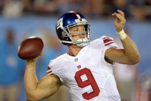 Ryan Nassib, New York Giants (August 3, 2014)
