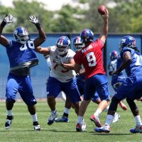 Ryan Nassib, New York Giants (June 18, 2014)
