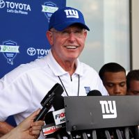 Tom Coughlin, New York Giants (July 22, 2014)