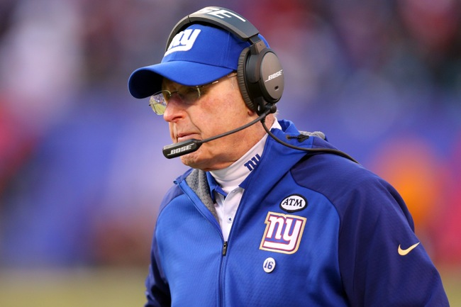 Tom Coughlin, New York Giants (December 20, 2015)