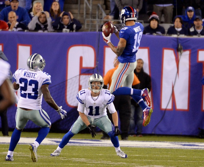 Myles White, New York Giants (October 25, 2015)