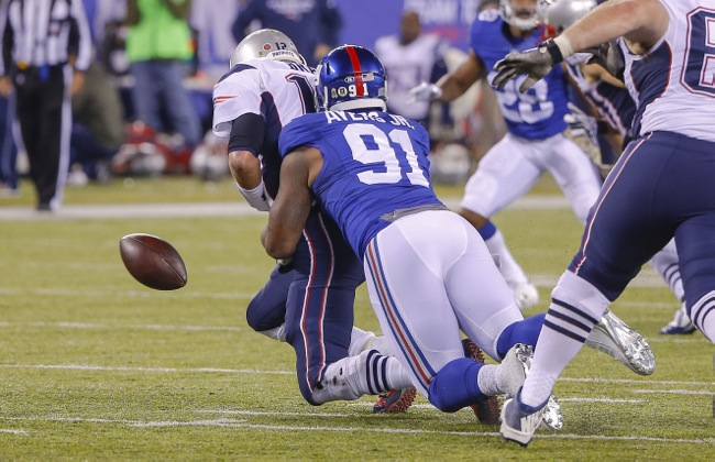 Robert Ayers, New York Giants (November 15, 2015)