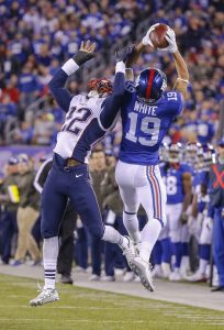 Myles White, New York Giants (November 15, 2015)