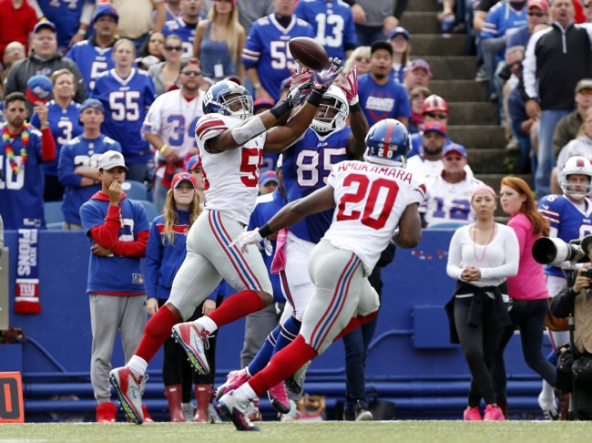 Devon Kennard, New York Giants (October 4, 2015)