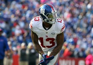 Odell Beckham, New York Giants (October 4, 2015)