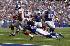 Rueben Randle, New York Giants (October 4, 2015)
