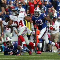Shane Vereen, New York Giants (October 4, 2015)