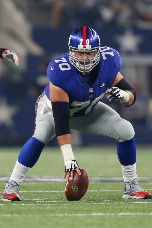 Weston Richburg, New York Giants (September 13, 2015)