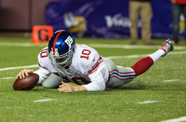 Eli Manning, New York Giants (December 27, 2015)