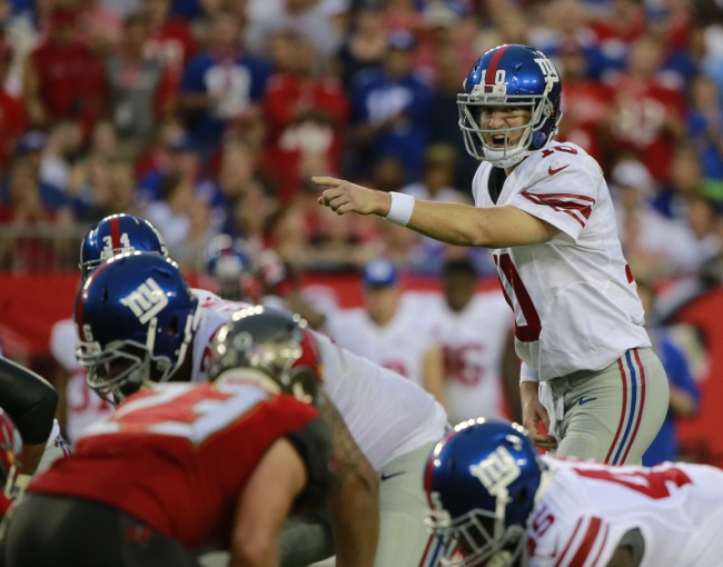 Eli Manning, New York Giants (November 8, 2015)