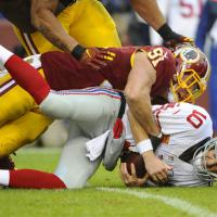 Washington Redskins 20 - New York Giants 14