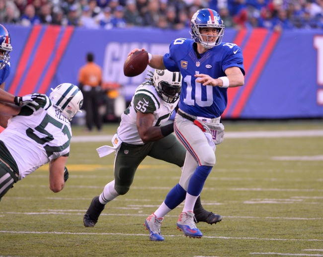 Eli Manning, New York Giants (December 6, 2015)
