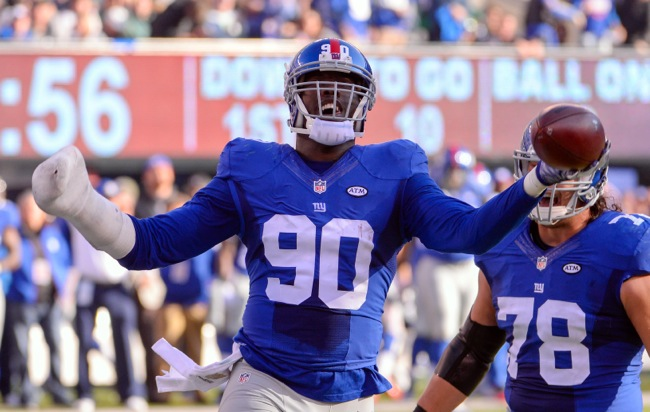 Jason Pierre-Paul, New York Giants (December 6, 2015)