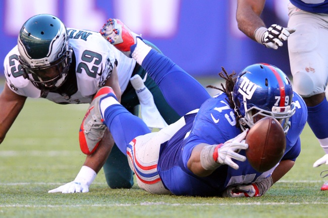 Montori Hughes, New York Giants (January 3, 2016)