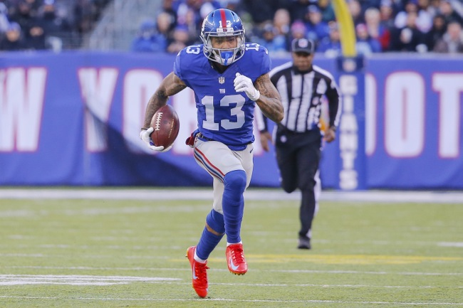 Odell Beckham, New York Giants (January 3, 2016)