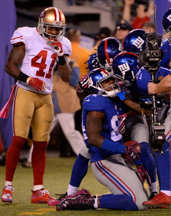 New York Giants Larry Donnell GAME Jerseys