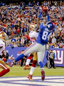 Larry Donnell, New York Giants (October 11, 2015)