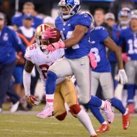 Shane Vereen, New York Giants (October 11, 2015)