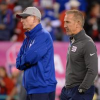 Tom Coughlin and Steve Spagnuolo, New York Giants (October 11, 2015)