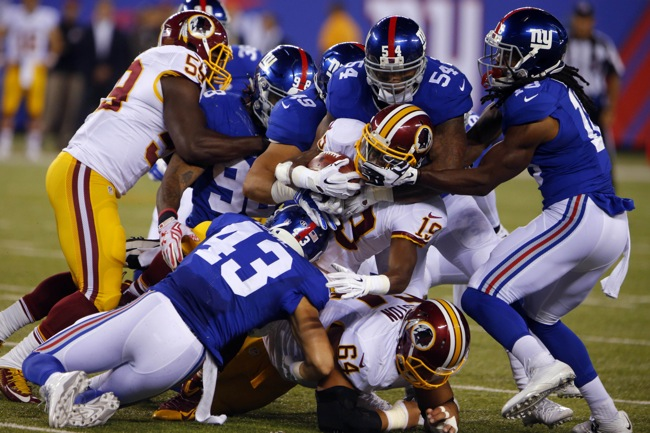 Game Preview: New York Giants at Washington Redskins, November 29, 2015