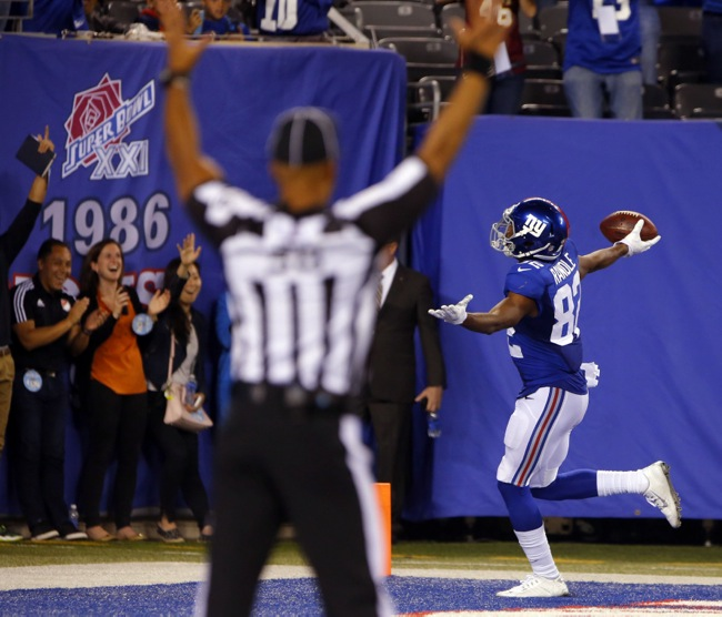 Rueben Randle, New York Giants (September 24, 2015)