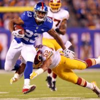 Rashad Jennings, New York Giants (September 24, 2015)