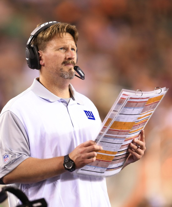 Ben McAdoo, New York Giants (August 14, 2015)