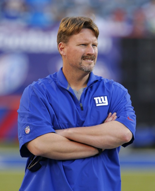 Ben McAdoo, New York Giants (August 22, 2015)