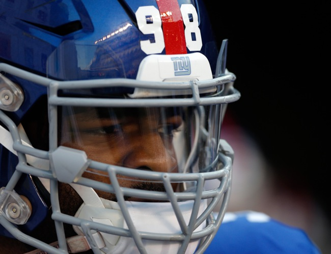 Damontre Moore, New York Giants (August 14, 2015)