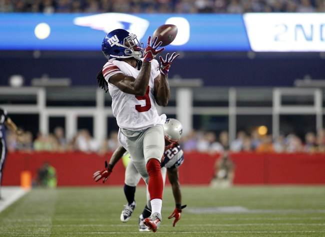 Geremy Davis, New York Giants (September 3, 2015)