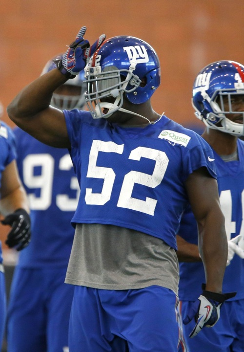 Giants 2015 Positional Breakdown: Linebackers