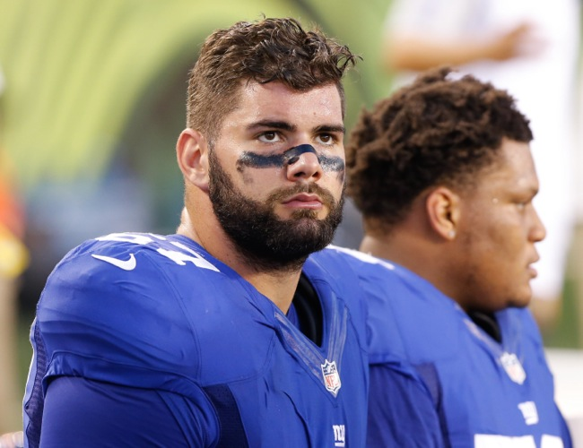 , New York Giants (August 14, 2015)Justin Pugh