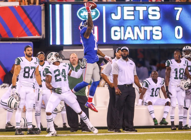 Odell Beckham, New York Giants (August 29, 2015)