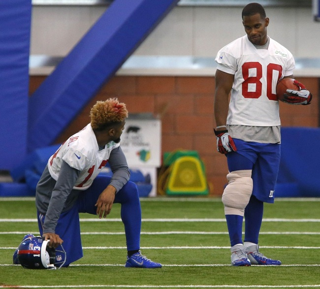 Odell Beckham Victor Cruz, New York Giants (June 8, 2015)