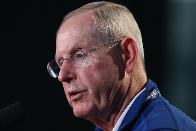 Tom Coughlin, New York Giants (February 19, 2015)