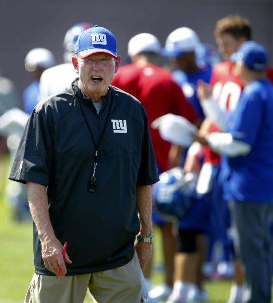 Tom Coughlin, New York Giants (July 31, 2015)
