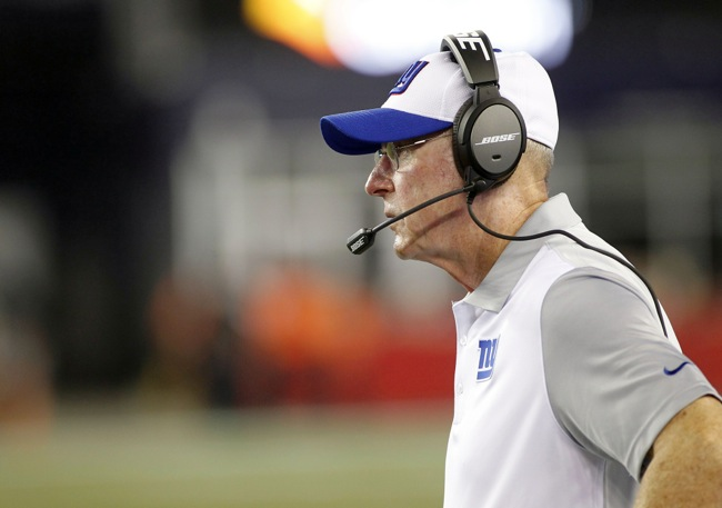 Tom Coughlin, New York Giants (September 3, 2015)