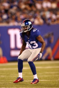 Brandon Meriweather, New York Giants (August 22, 2015)