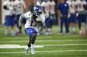 Dwayne Harris, New York Giants (June 16, 2015)