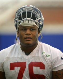 Ereck Flowers, New York Giants (June 8, 2015)