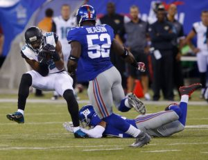 Jon Beason, New York Giants (August 22, 2015)