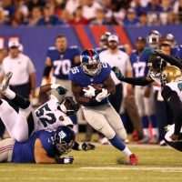 Orleans Darkwa, New York Giants (August 22, 2015)